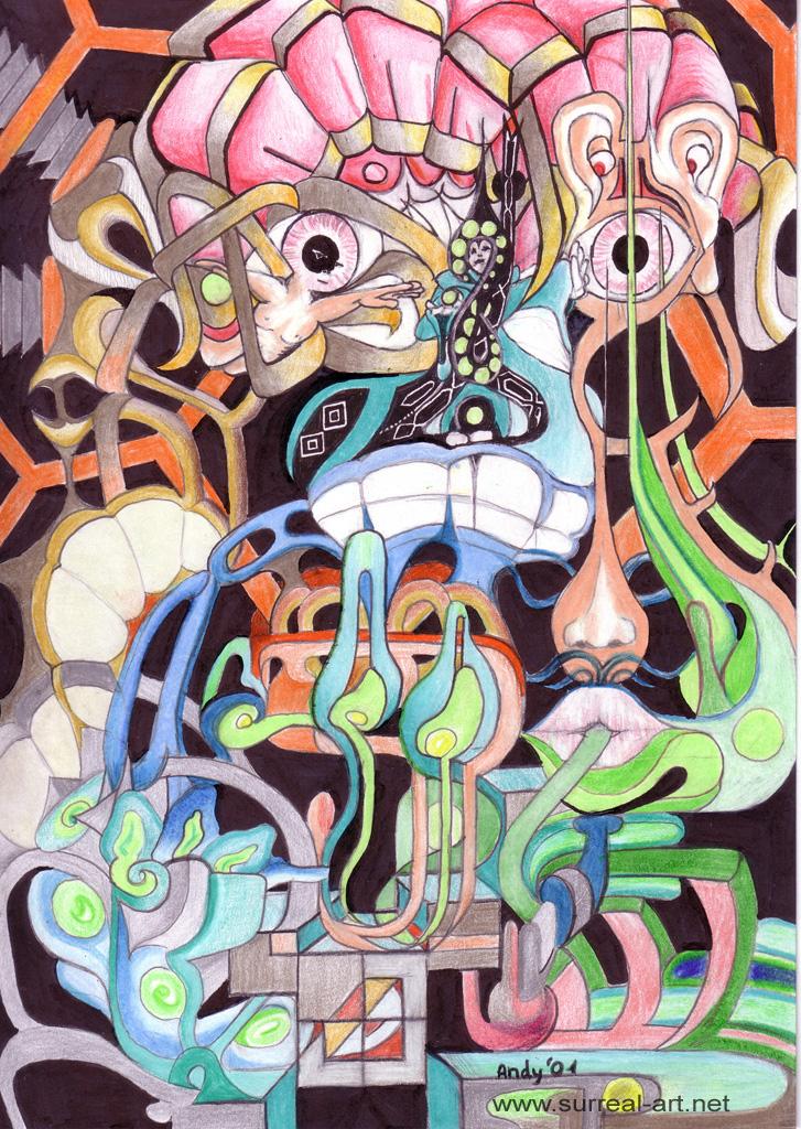 surrrealism surreal surrealismus artwork art drawing painting fantasy